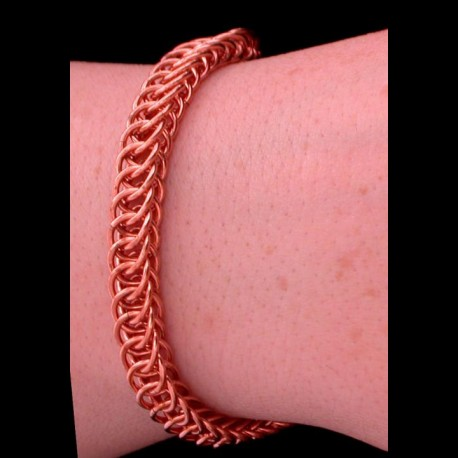 Copper Half Persian 4in1 'Ormlank' Bracelet