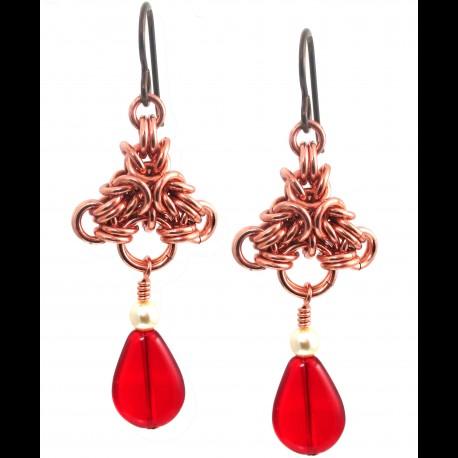 Copper Bridey Earrings