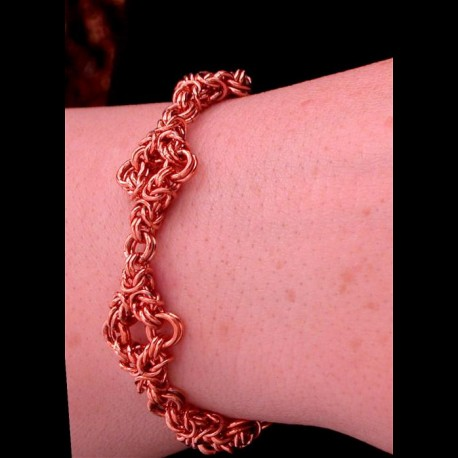 Copper Twin Triangle Bracelet