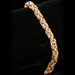 Brass Byzantine Bracelet